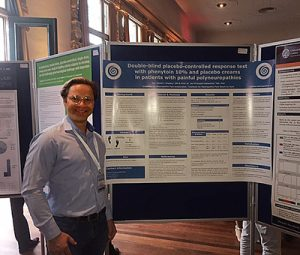 David Kopsky presents poster at FIGON days